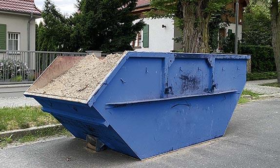 tani kontener na odpadu