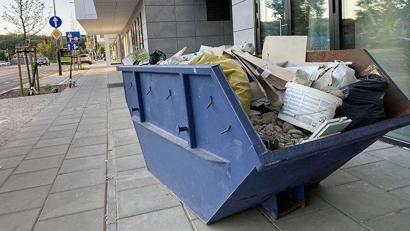 wywóz gruzu, odpadów i śmieci