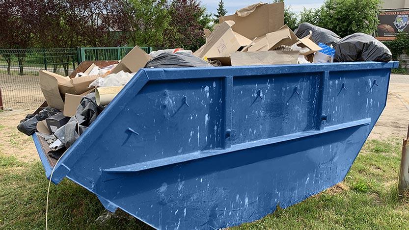 wywóz odpadów mieszanych